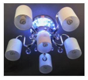 8478/5 E27+LED 60 cm.