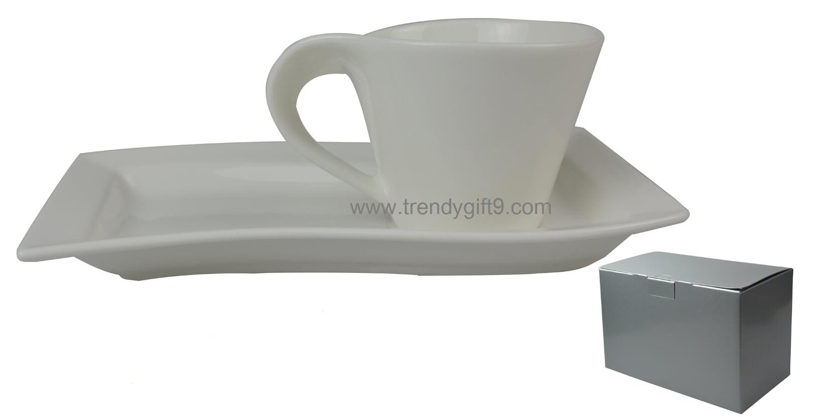 แก้วกาแฟ+จานรอง CM-11 (M)