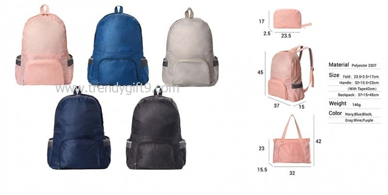 กระเป๋าเป้พับได้ FB-809 (J)