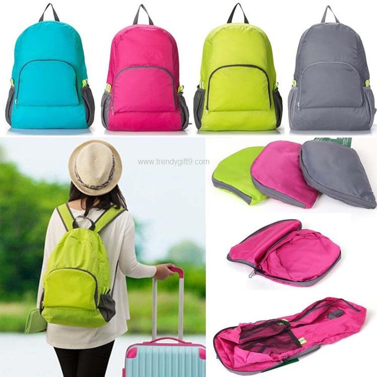 กระเป๋าเป้พับได้ FB-002B (J)