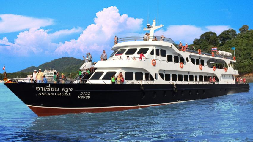 Phi Phi Boat Ticket by Cruise Boat