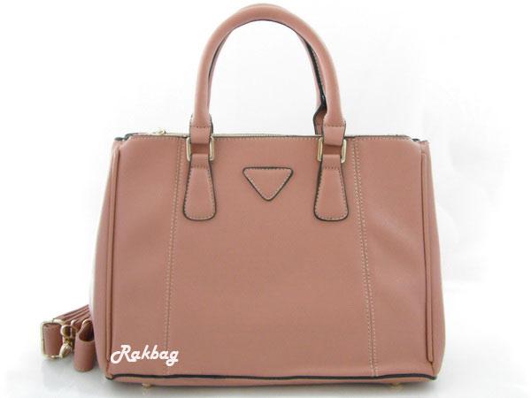กระเป๋า Prada สีนู้ด