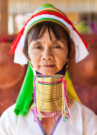 Description: Long-Neck woman, Myanmar